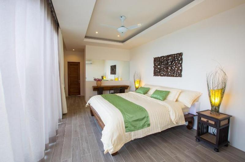 Villa Loramatari Bedroom Three with Study Table | Choeng Mon, Koh Samui
