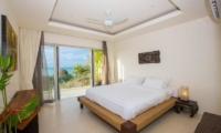 Villa Loramatari Bedroom One with Sea View | Choeng Mon, Koh Samui