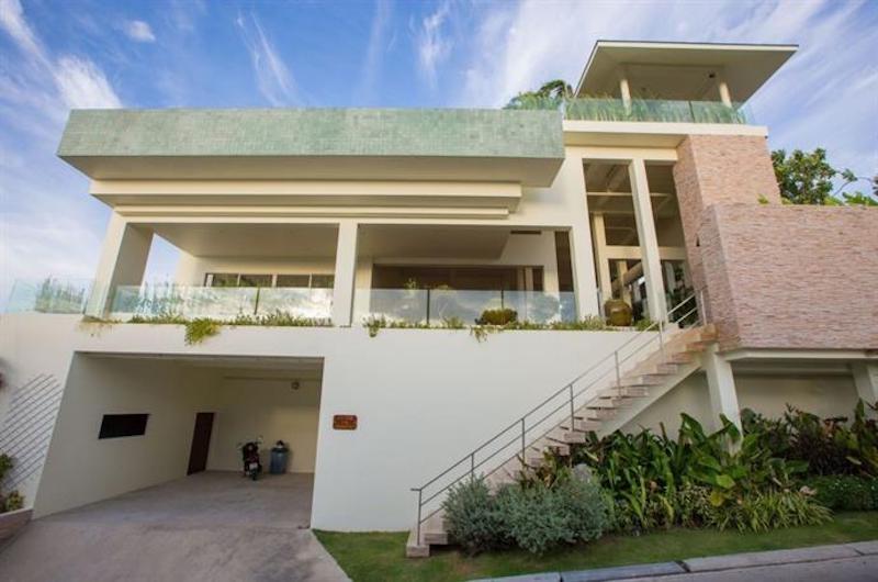 Villa Loramatari Entrance | Choeng Mon, Koh Samui