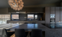 Odile Dining Area with Open Plan Kitchen | Hirafu, Niseko