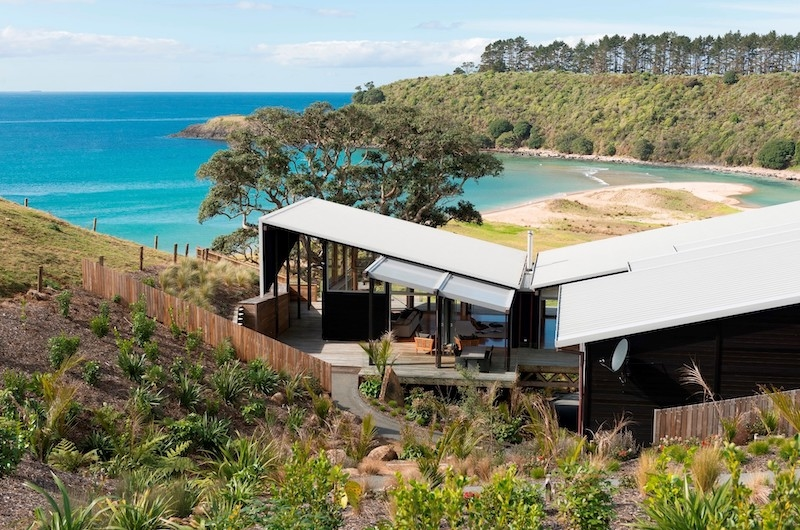 Otaha Beachfront Lodge Exterior Design | Bay of Islands, Northland