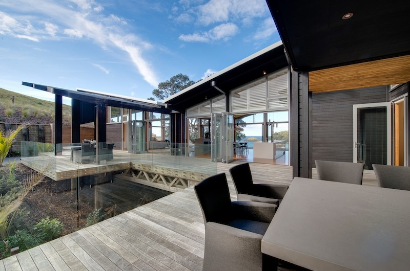 Otaha Beachfront Lodge Outdoor Seating | Bay of Islands, Northland