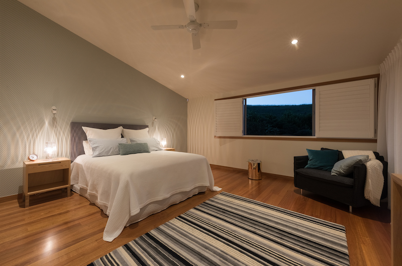 Otaha Beachfront Lodge Spacious Guest Bedroom | Bay of Islands, Northland