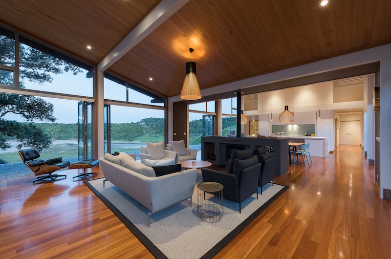 Otaha Beachfront Lodge Living Room | Bay of Islands, Northland