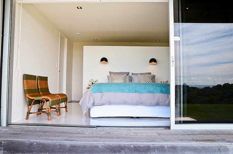 Whale Bay Estate Spacious Guest Bedroom | Matapouri, Northland