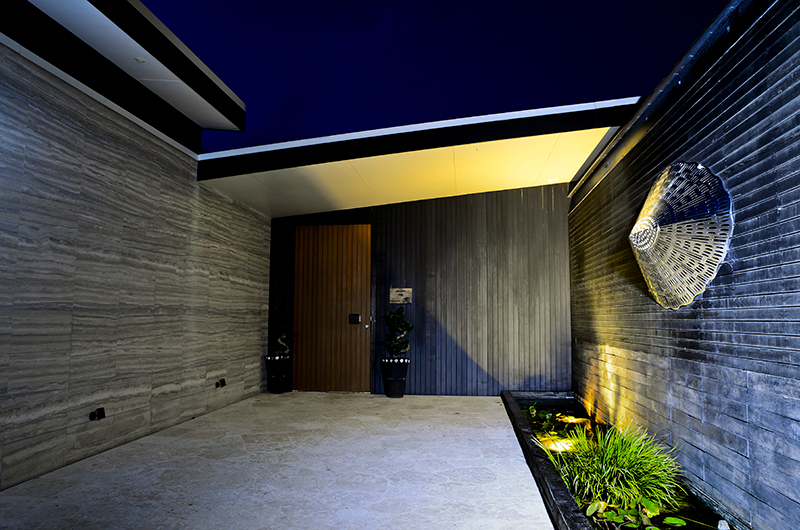 Whale Bay Estate Front Door | Matapouri, Northland