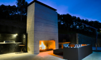 Whale Bay Estate Outdoor Fire Place | Matapouri, Northland