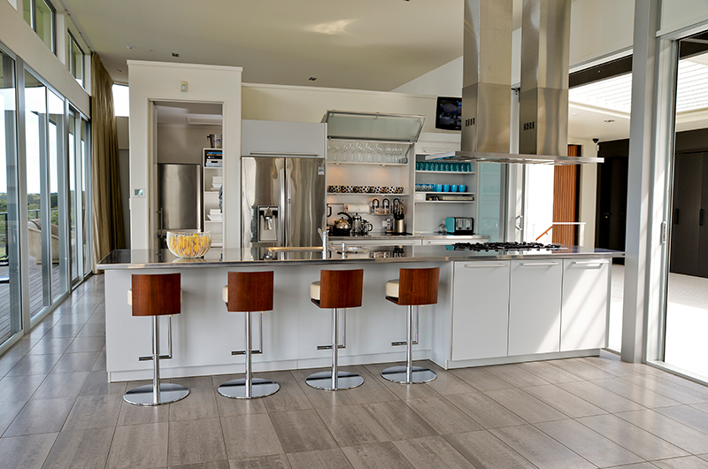 Whale Bay Estate Fully Equipped Kitchen | Matapouri, Northland