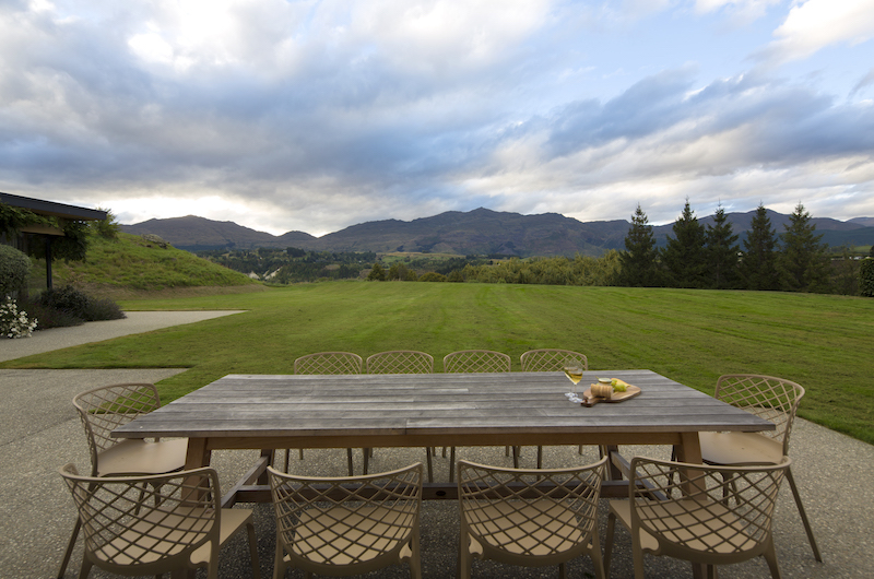 Alpine Retreat Outdoor Wooden Dining Table | Queenstown, Otago