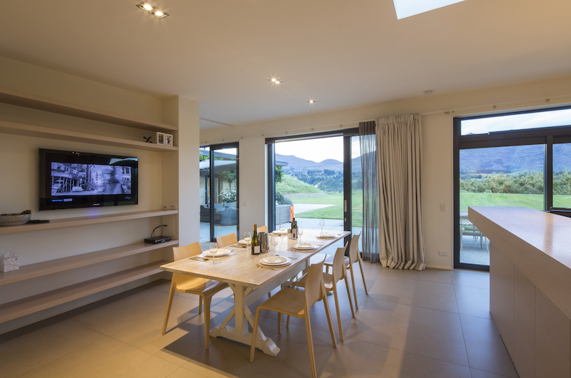 Alpine Retreat Dining Room | Queenstown, Otago