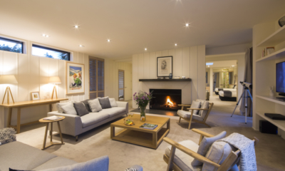 Alpine Retreat Living Room | Queenstown, Otago