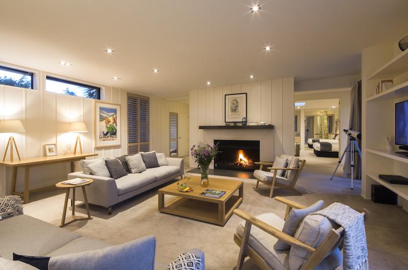 Alpine Retreat Living Room | Queenstown, Otago