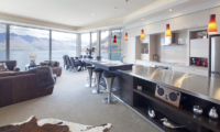 Aspen House Open Plan Kitchen and Living Area with Lake View | Queenstown, Otago