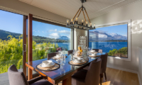 Kohanga Luxury Lakeside Villa Dining Table | Queenstown, Otago