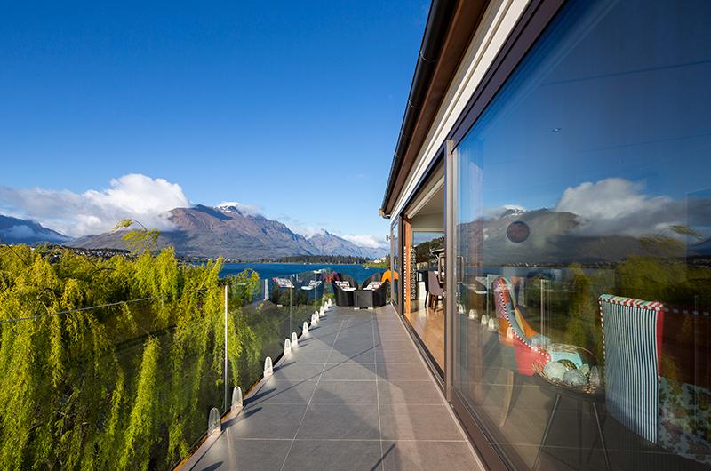 Kohanga Luxury Lakeside Villa Terrace Area | Queenstown, Otago