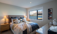 Kohanga Luxury Lakeside Villa Spacious Bedroom with Lake Views | Queenstown, Otago