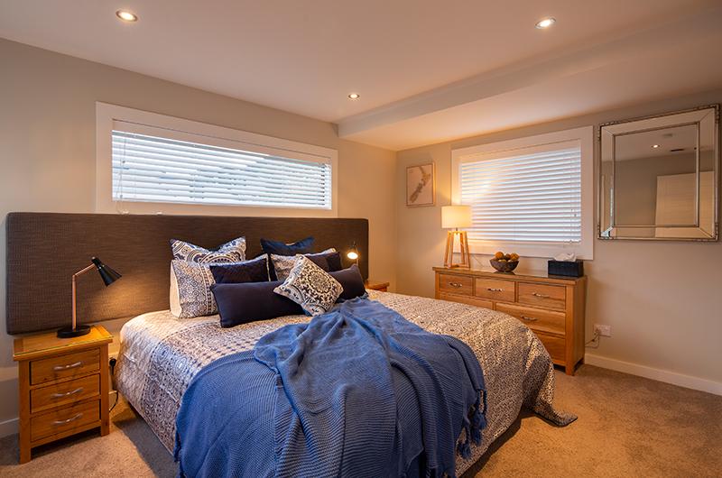 Kohanga Luxury Lakeside Villa Guest Bedroom | Queenstown, Otago