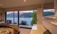 Kohanga Luxury Lakeside Villa Bedroom with Terrace | Queenstown, Otago