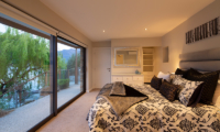 Kohanga Luxury Lakeside Villa Bedroom | Queenstown, Otago