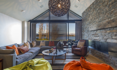 Sunrise Bay Living Room | Wanaka, Otago