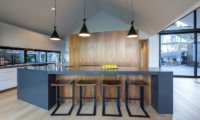 Sunrise Bay Marble Kitchen Table | Wanaka, Otago