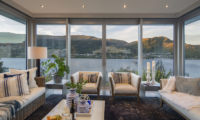 Supreme Lakefront Living Room | Queenstown, Otago