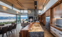 The Dacha Marble Kitchen Table | Wanaka, Otago