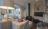 The Homestead at Lake Hayes Indoor Seating with Fire Place | Queenstown, Otago