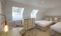 The Homestead at Lake Hayes Twin Bedroom | Queenstown, Otago