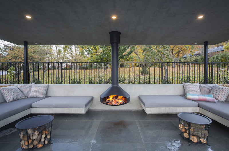 The Homestead at Lake Hayes Fire Place | Queenstown, Otago