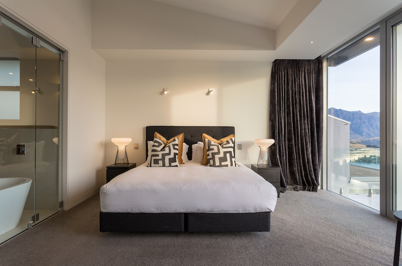 Views on Edinburgh Bedroom Two | Queenstown, Otago