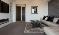 Views on Edinburgh Media Room with Fire Place | Queenstown, Otago