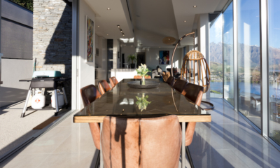 Views on Edinburgh Wooden Dining Table | Queenstown, Otago
