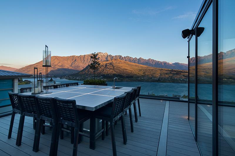 Villa Cascata Rectangular Dining Table | Queenstown, Otago