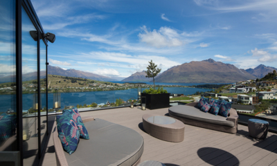 Villa Cascata Outdoor Deck | Queenstown, Otago