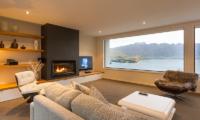 Villa Fifteen Indoor Fire Place | Queenstown, Otago