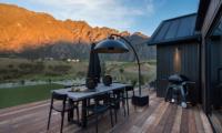 Villa Kahua Outdoor Dining Table | Queenstown, Otago