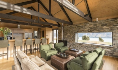 Wyuna House Living Room | Glenorchy, Otago