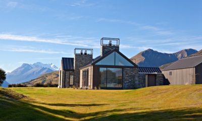 Wyuna House Entrance Door | Glenorchy, Otago