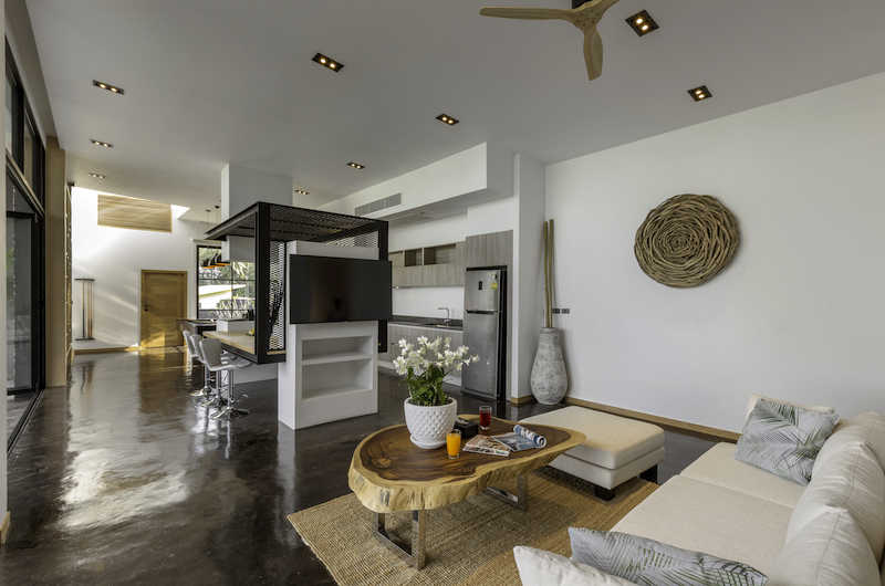 Villa Braya Living Room | Koh Yao Noi, Phang Nga