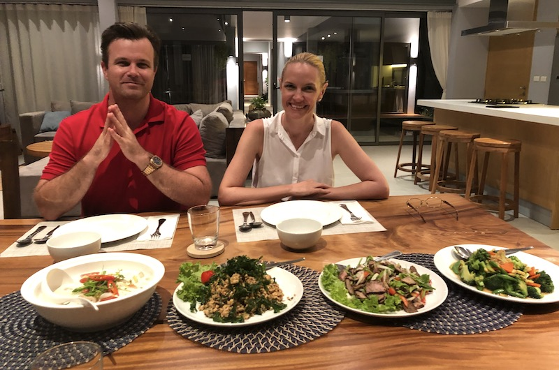 Twin Villas Dinner | Natai, Thailand