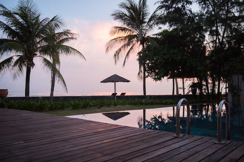 Sanctuary Premium Beach Front Pool Deck | Ho Tram, Vietnam
