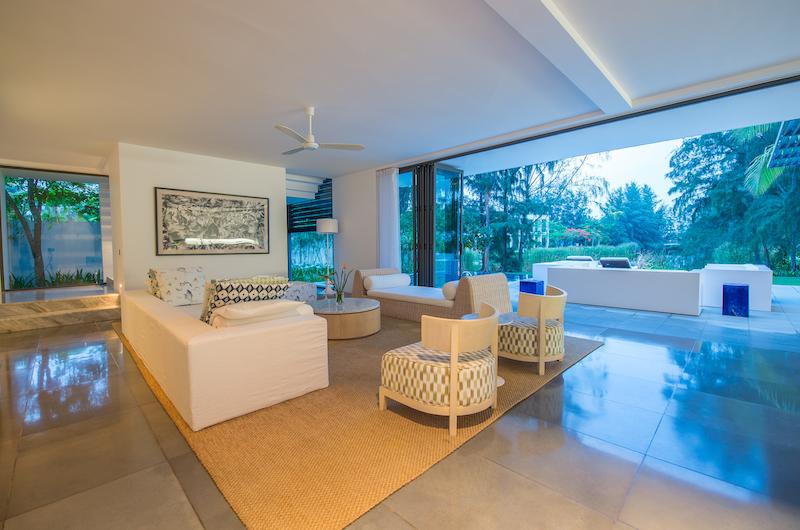 Sanctuary Villas Premium River Front Living Room | Ho Tram, Vietnam