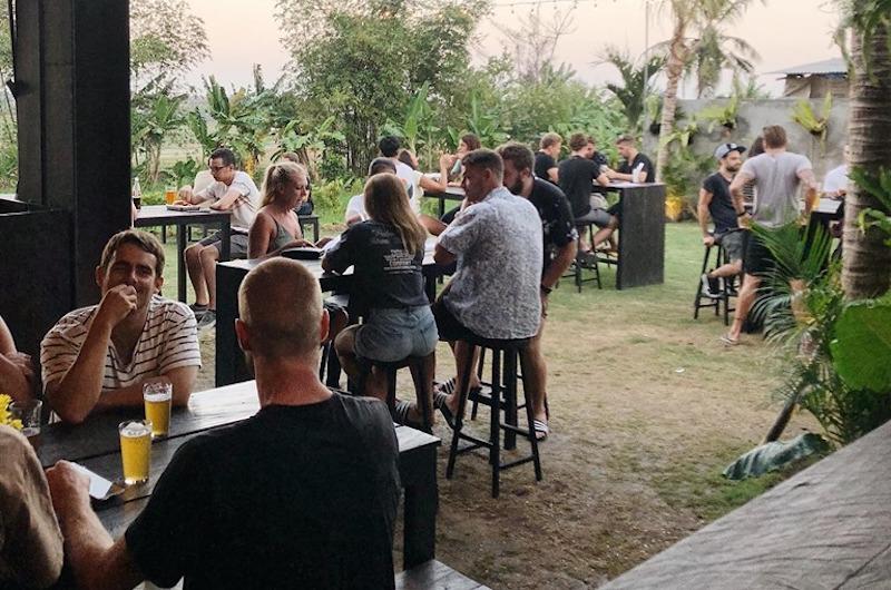 Black Sand Brewery Backyard | Canggu, Bali