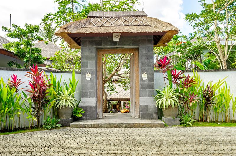 Villa Bella Bambu Entrance | Pererenan, Bali