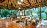 Villa Bella Bambu Living Area | Pererenan, Bali