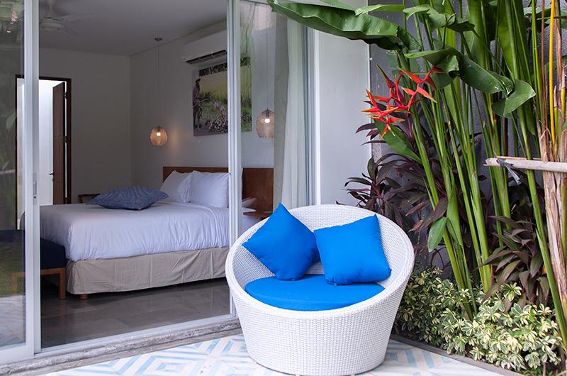 Villa Capil Bedroom Outdoor Space | Batubelig, Bali