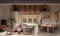 Villa Massilia Satu Living Room | Seminyak, Bali