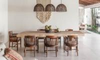 Villa Massilia Satu Wooden Dining Table | Seminyak, Bali