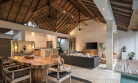 Villa Massilia Tiga Wooden Dining Table   Seminyak, Bali